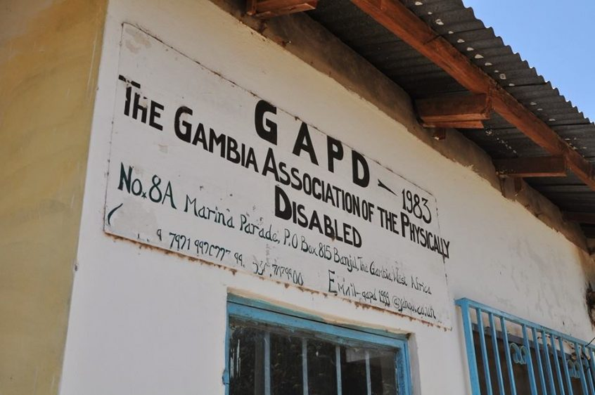 The Gambia association of the physically disabled