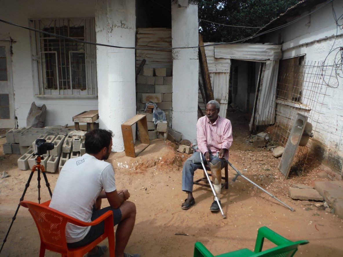 amputee in Africa