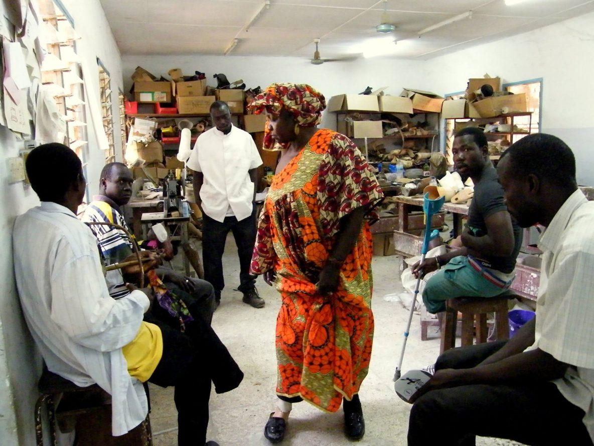men and women in Africa
