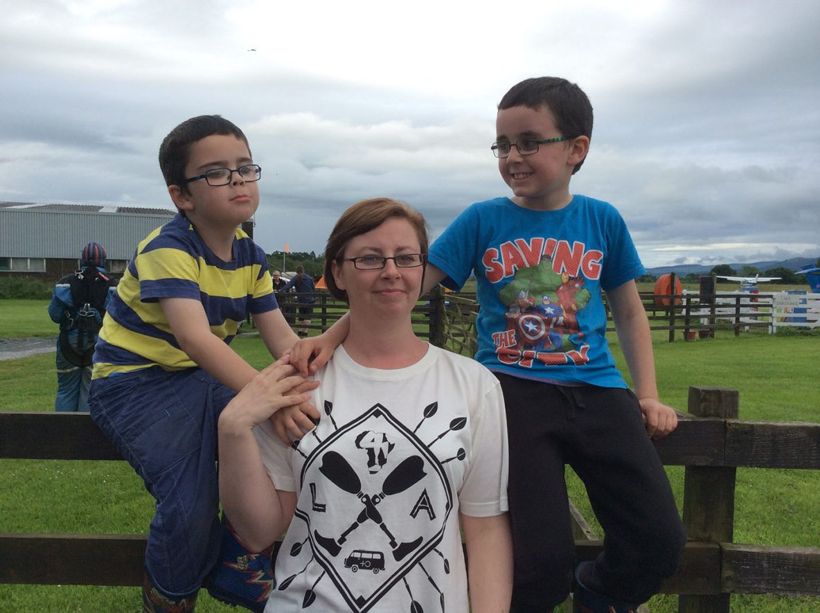 a family of fundraisers
