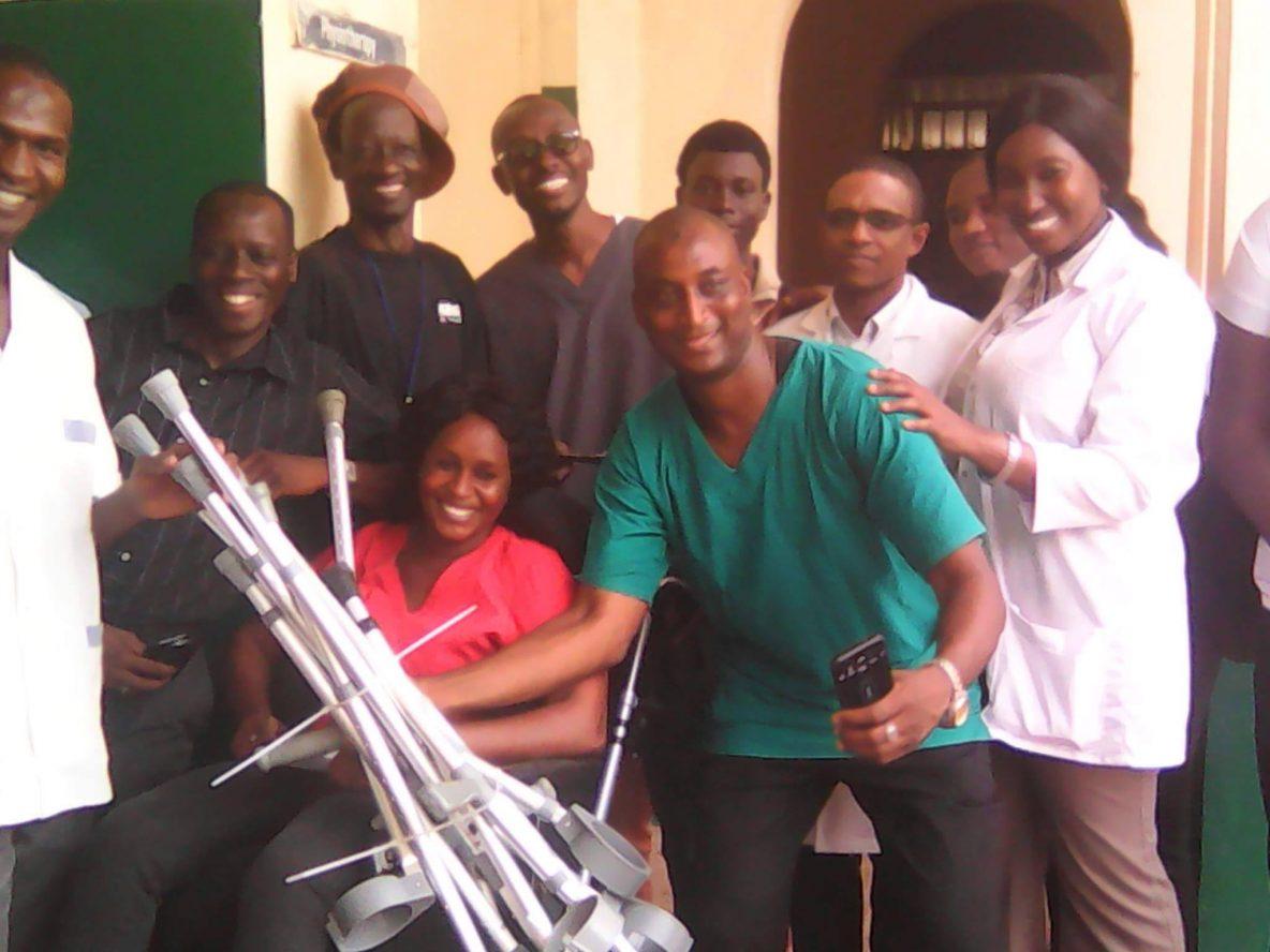 Gambian amputees